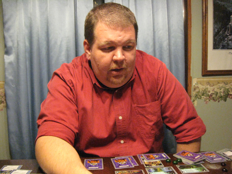 Nathan Stout playing netrunner